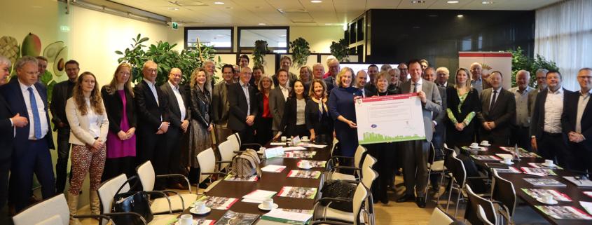 Deelakkoord Human Capital Zuid-Holland Greenport West-Holland
